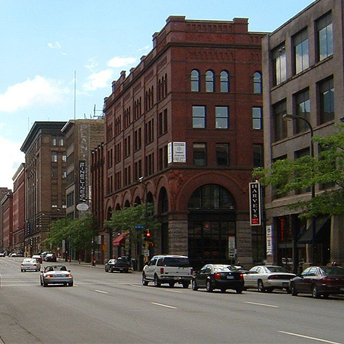 First Ave in Minneapolis Warehouse District