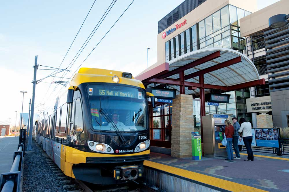 The Top Destinations Along the Metro Transit Blue Line
